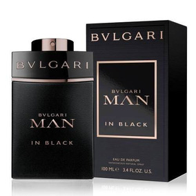 Bvlgari Man In Black Edp - Perfume Masculino 100ml - Bulgari