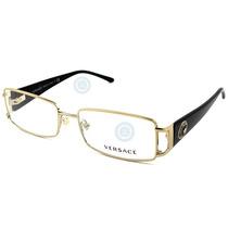 Lentes Versace Ve1163m 1252 Pale Gold Original Dama Nuevo