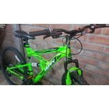 Mountain Bike Huffy Rockcreek Aro 26 Doble Suspensión