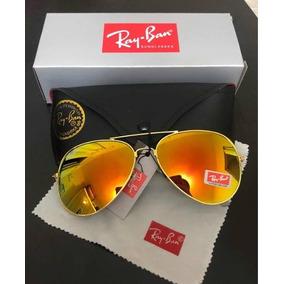 463c6b6692737 Oculos De Sol Feminino Ray Ban Aviador Rose - Óculos no Mercado ...