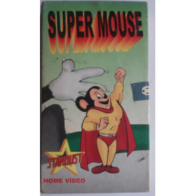 Fita Vhs Video Cassete Supermouse Stardust Home Video