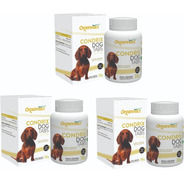3 X Condrix Dog Tabs 36g 600mg Organnact