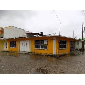 Casa En Venta, Col. El Suspiro, Agua Dulce, Ver.