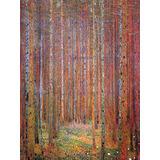 Gustav Klimt Tannenwald I Antiguo Arte Principal Pintura...