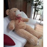 Urso De Pelúcia Ursinho Teddy Bear Gigante 150cm 1,50 Metros