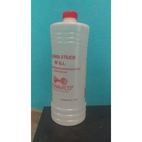 Alcohol Etílico 96° 1 Lt 20 Piezas Potable Envió Gratis