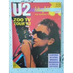 Revista Top Rock 21 U2 Achtung Baby Zoo Tv Tour 92