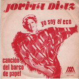 Jovita Diaz Yo Soy El Eco Simple Vinilo Con Tapa Arg.