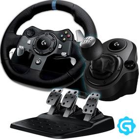 Volante Logitech G920 + Pedalera + Palanca Shifter Xbox Pc
