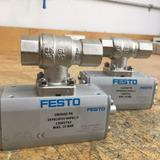 Festo - Valvula De Bola 1/2 Y Actuador Neumatico
