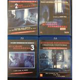 Coleção Blu-ray Atividade Paranormal Original Usado