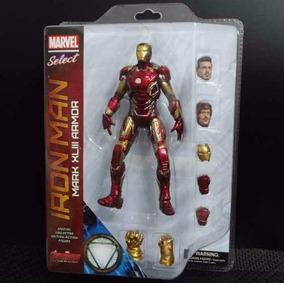 Homem De Ferro- Mark 43- Marvel Select- Lacrado