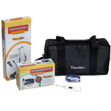 Kit Enfermagem Premium Esfig. Esteto Termômetro Dig. Garrote
