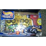 Hot Wheels Monster Jam Transforma Tucarro Original De Mattel