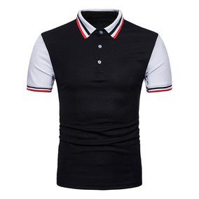 dcfe0e1e11bcb Camisa Polo Canon Negra Logo - Otras Camisas de Hombre en Mercado ...