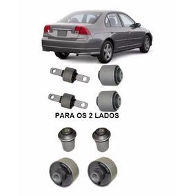 8 Bucha Braço Superior Traseiro Band Diant Honda Civic 01 05