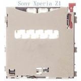 Leitor Chip Sim Card Xperia Z2 D6502 D6503 D6543 Slot Cartão
