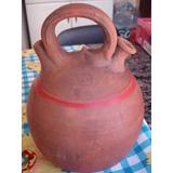 Moringa Garrafa Barro Cerâmica Água Fresca 2,5 Litros,antiga