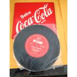 Antigo Compacto Vinil Coca-cola Hole Dance Abra Um Sorriso