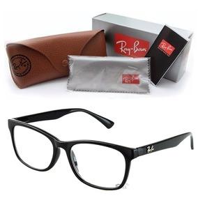 f8d5e86eb757b Óculos De Grau Masculino Ray Ban Parana - Óculos Preto no Mercado ...