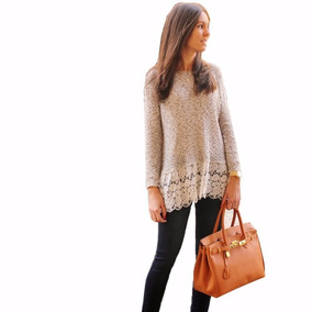 Moda Asiatica Sueter Sweater Blusa Manga Larga Ropa Invierno