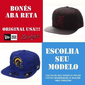 Bones New Era Originais Aba Reta - Bonés Masculinos no Mercado Livre ... 221b498799d