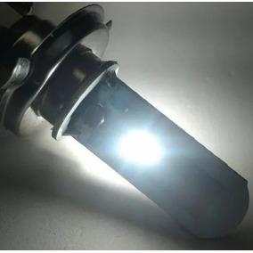 Lampada Super Led H4 Motos Universal Efeito Xenon 8000k