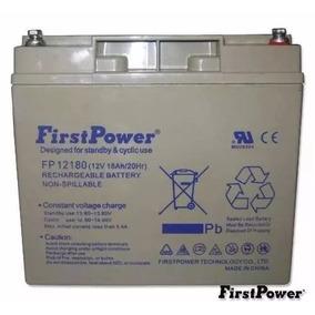 Bateria 12v 18ah First Power Fp12180 3~5 Anos