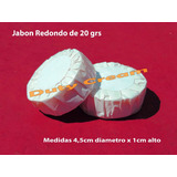 Jabon Hotelero Redondo Plizado Hotel 216 Unid Caba Souvenirs