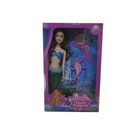 Juguete Muñeca Barbie Sirena
