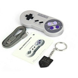 Controle 8bitdo Snes30 Bluetooth E Usb Android Ios Pc Pi3
