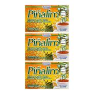 (3 Piezas) Té Pinalim (30 Sobres) Gn+vida