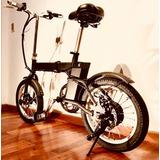 Bicicleta Eléctrica Plegable A Batería Envío Gratis Caba