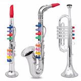 Set De 3 Instrumentos Musicales De Juguete. Entrega Inmediat