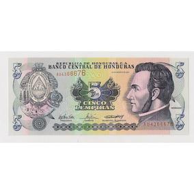 Honduras Billete De 5 Lempiras Año 2004 Sin Circular!!!