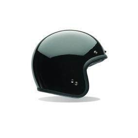 Casco Abierto Bell Custom 500 Negro Brillo - Moto