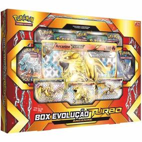 Box Cards Pokémon Evolução Turbo Arcanine