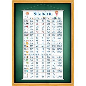 Banner Silabário Simples Ou Complexo Ou Alfabetário