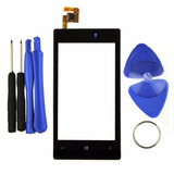 Tela Vidro Touch Screen Nokia Lumia N 520 N520 + Kit Chaves