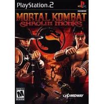 Mortal Kombat Shaolin Monks Ps2 Patch - Frete Só 7,00