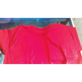 Playera Campaña, Roja 115grms Fabricacion