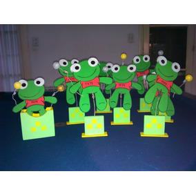 Adornos/cotillón Para Cumpleaños Sapo Pepe