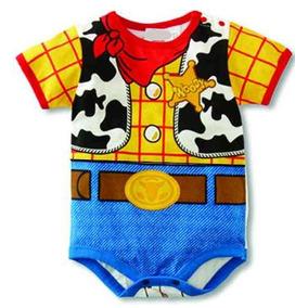 Kit- 2 Body Bebê Desenho Toy Story Woody E 1 Body Jessie