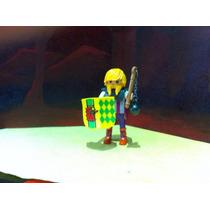 Playmobil Vikingo Guerrero Caballero Barbaro Con Escudo Js B