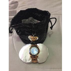 Reloj Dama Guess Ladies F14 W0469l2-100% Original