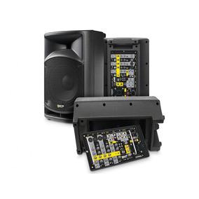 Sistema De Sonido Portátil Skp Sk-210ma Rms 2x200w