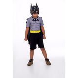 Fantasia Do Batman Infantil Carnaval Liga Da Justiça
