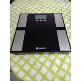 Balança E Analisador Corporal Ultra Slim W904i Wiso Bioimped