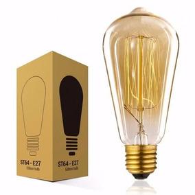 Kit 10 Lampada Edison Retro Vintage Filamento Carbono