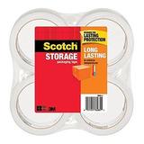 Scotch Cinta Adhesiva De Empaque Almacenamiento, 1,88